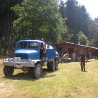 Stavění tábora 2014