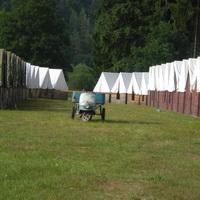 Stavění tábora 2012