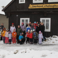 Zimní tábor - Smrková chaloupka v Příchovicích 2013
